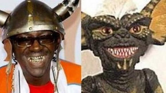 Flava Flav look alike is gremlin not animal but...