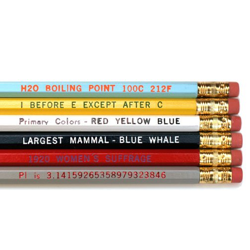 Know it all pencils