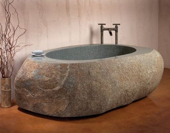 bath tub made in stone