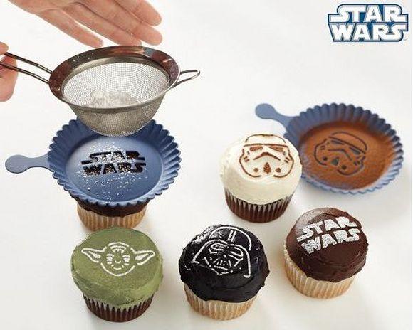 cupcake stencil set