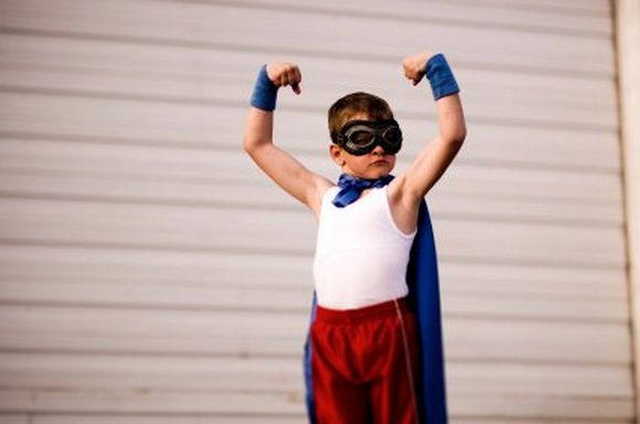 Parenting a kid to be super hero