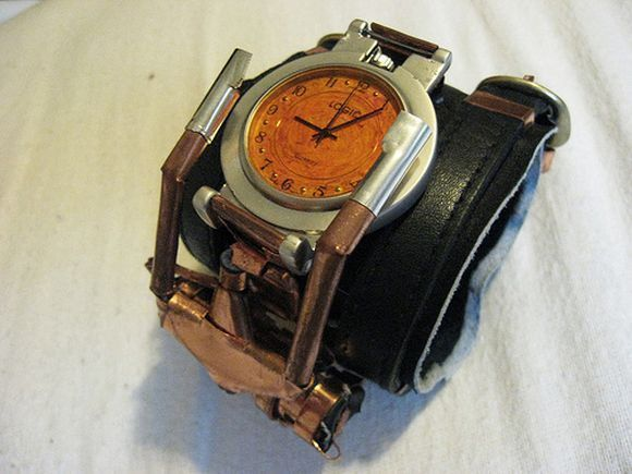 metal watch glove