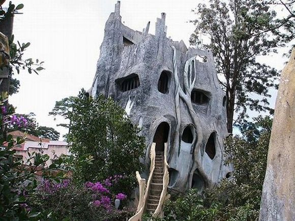 Gaudi's fantasies hotel by Hang Nga