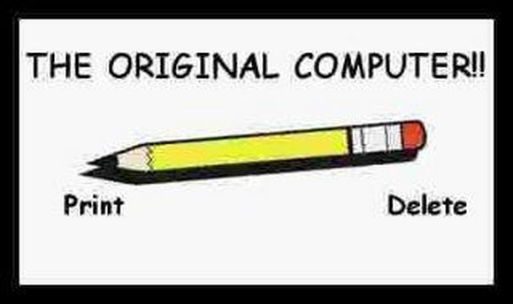 the original computer pencil