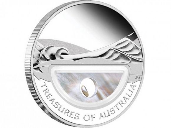 treasures of australia coin