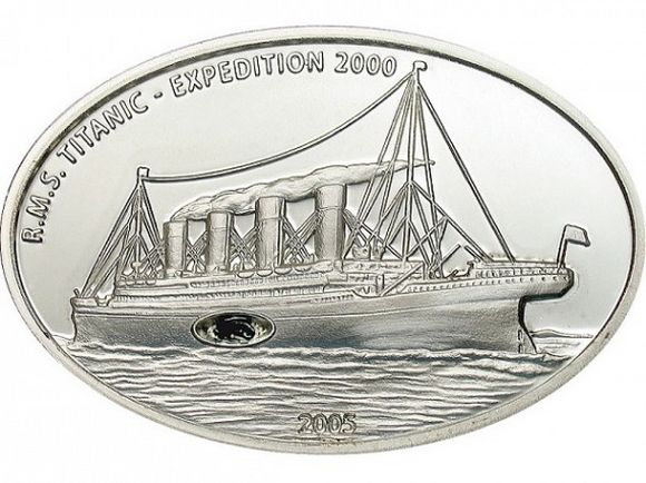 titanic expedition 2005 coin