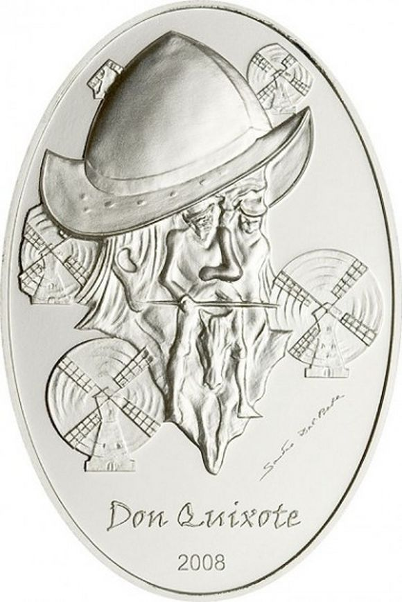 don quixote 2008 coin