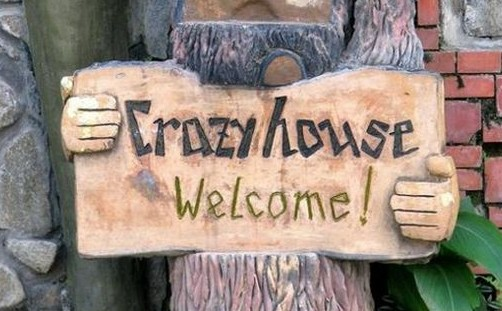 It is really crazy this Crazy House Hotel