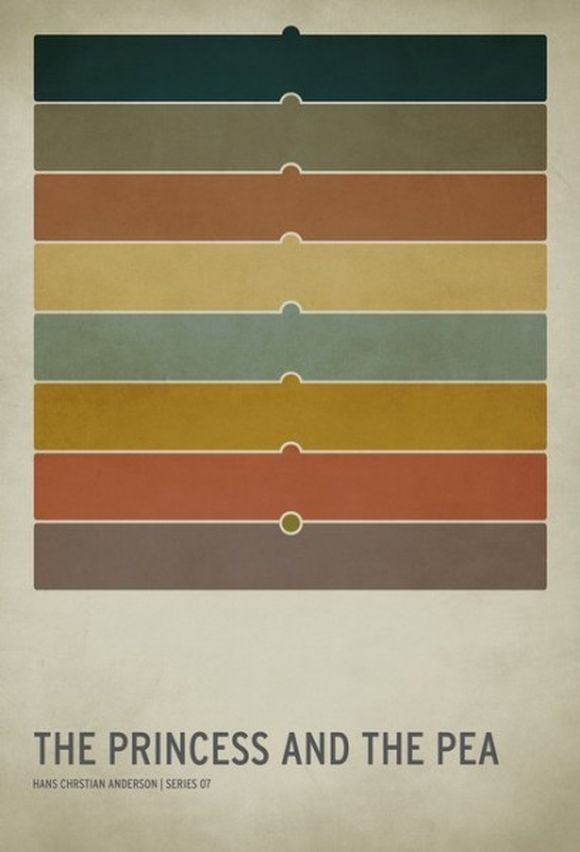 Minimalist Posters for Your Favorite Stories And Fairy Tales