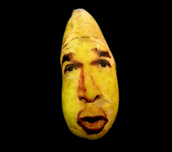 bush potato portrait