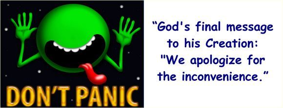 god final message to his creation we apologize for the inconvenience