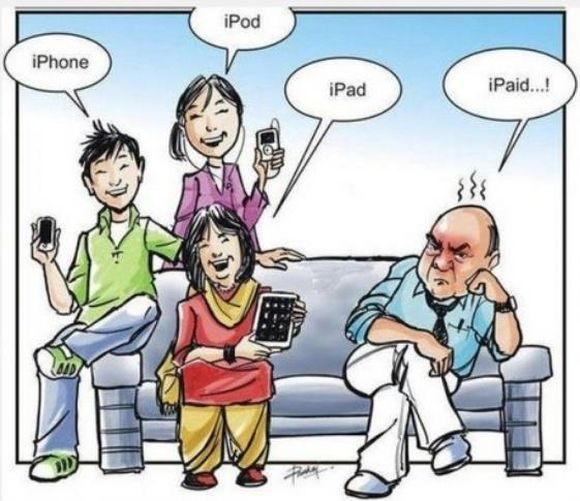 Iphone ipod ipad ipaid
