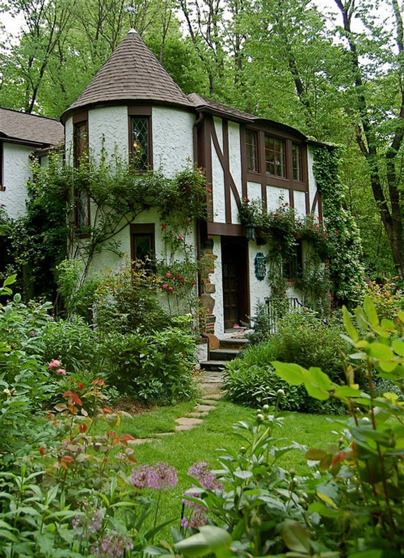 Fairy tale cottages for Fairy tale home plans
