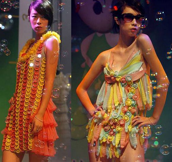 Dresses Made Out of Trash