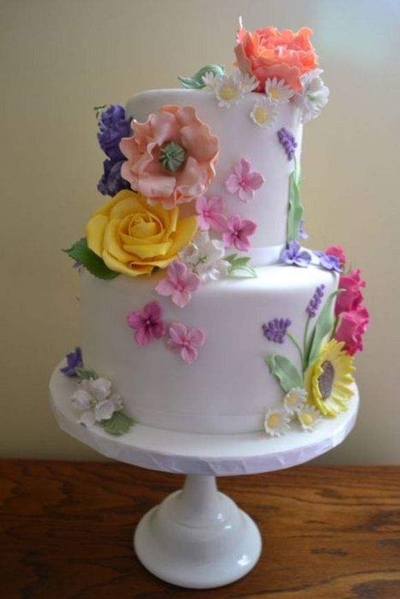 Images Cake And Flowers : Beautiful Cakes
