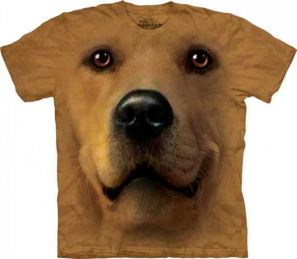 3D Dog Face T-Shirts