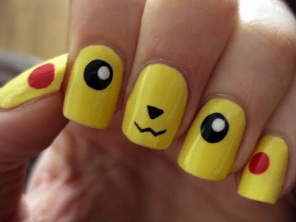 Cool Pop Culture Nails