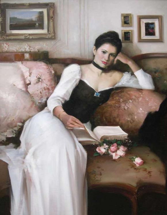 Famous Painting Of Woman On Couch