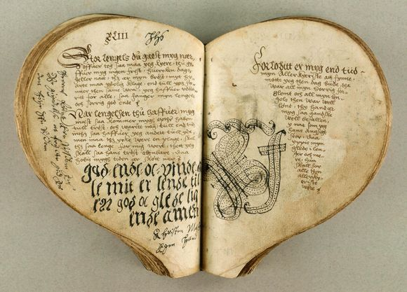 Heart – Shaped  Books