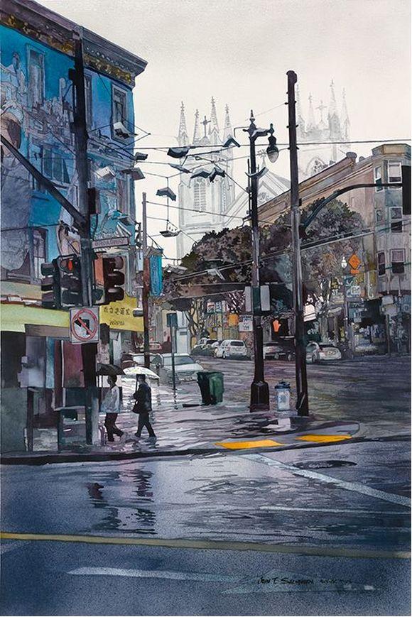 Urban Landscapes by John T. Salminen