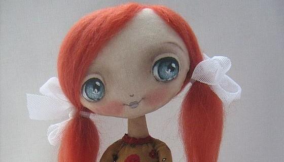 Cute Handmade Dolls by Oksana Dadiani