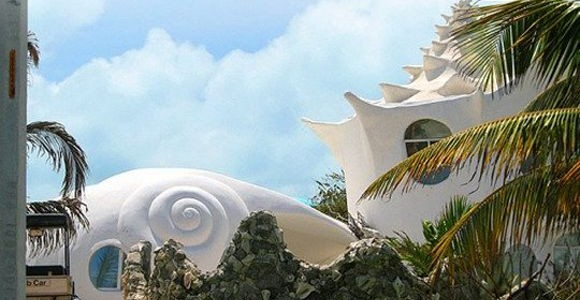 Sea Shell House by Octavio Ocampo