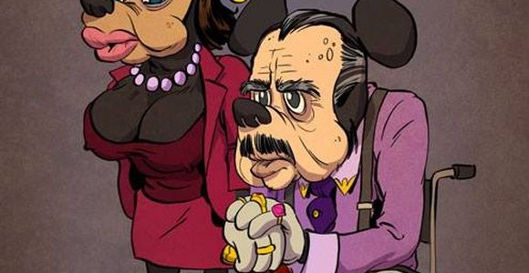 Some of our favorite cartoon characters in their old age