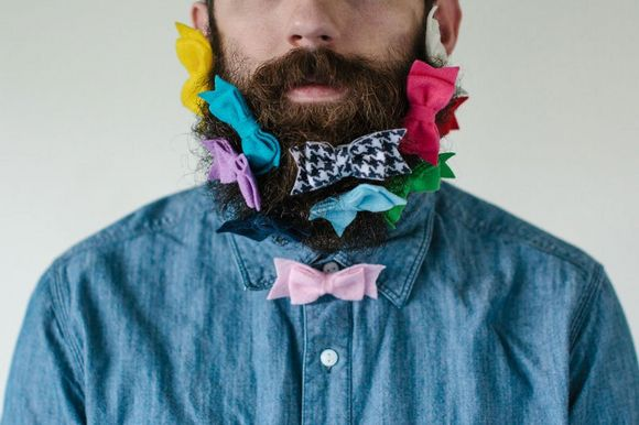 beard and bow ties