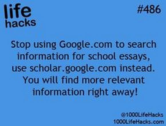 information for school essays