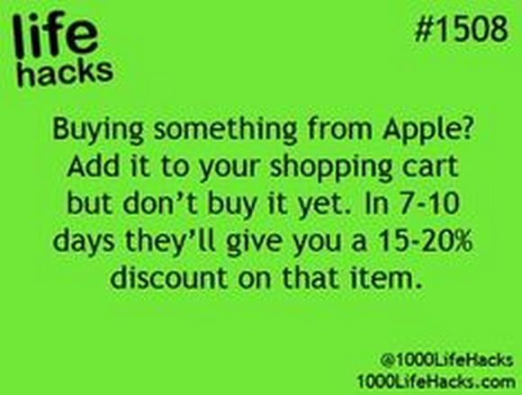 buying from Apple