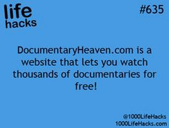 documentaries for free