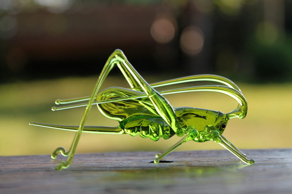 hand blown animal figurines