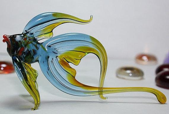 Glass animals by nikita drachuk for Blown glass fish