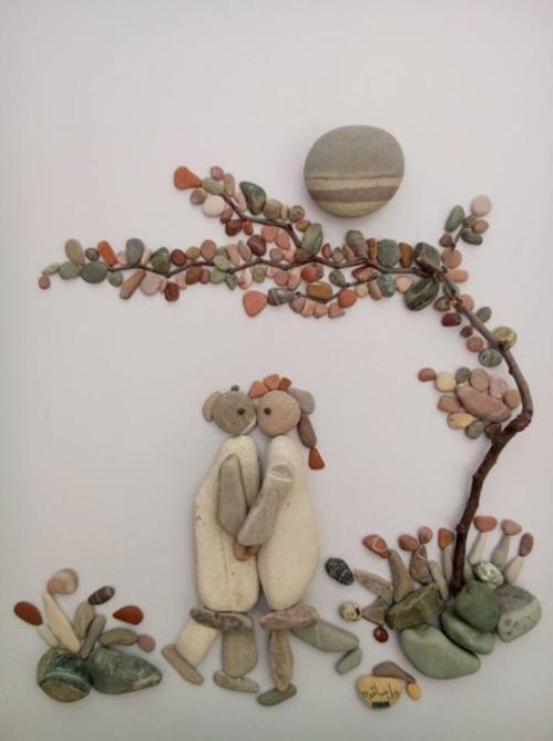 love pebbles scenes