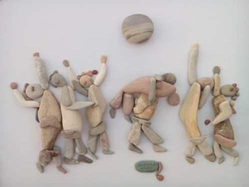 pebbles scenes everyday life