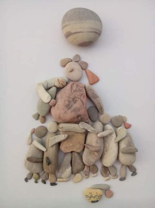 return of human values love, home, family pebbles scenes
