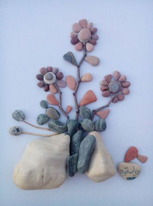 flower power pebbles scenes