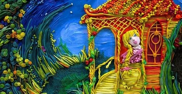 Plasticine fairy tales by Anastasia Volkova