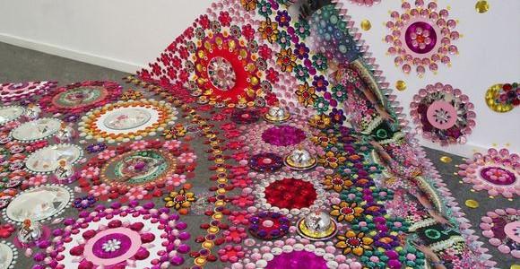 Psychedelic Floor Installations by Suzan Drummen