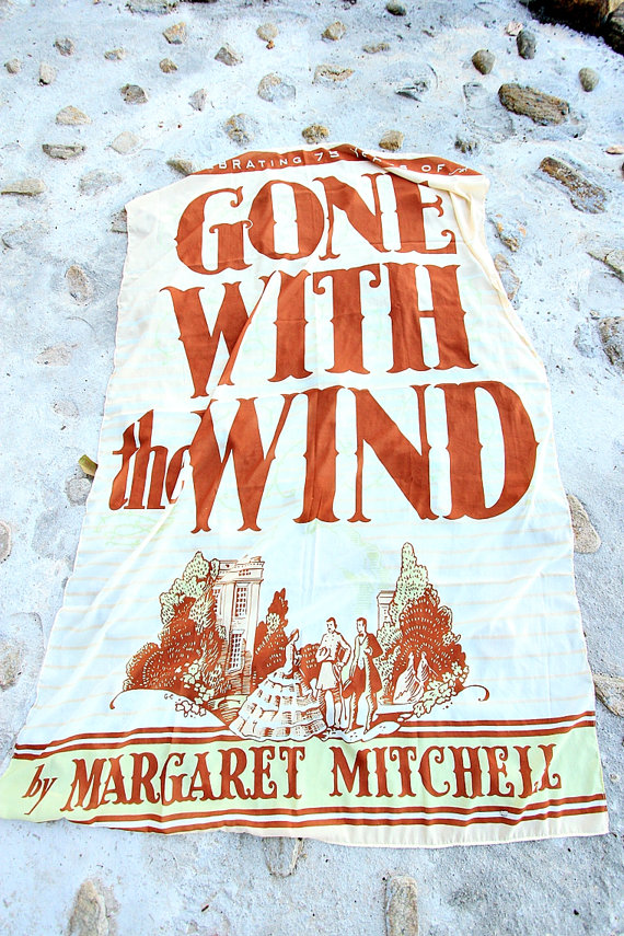 book Scarves, Gone with the wind