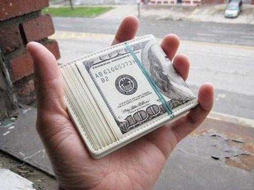 100 bill wallet