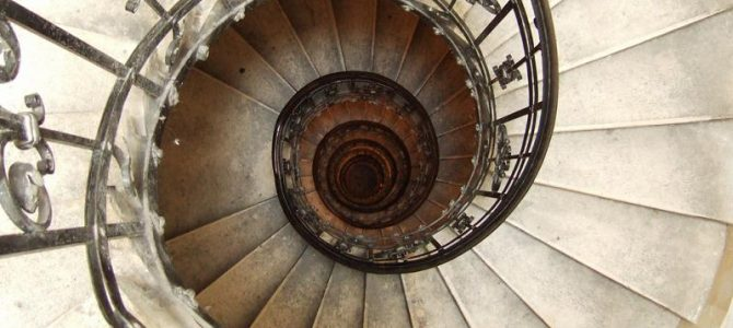 Amazing spiral stairs collection