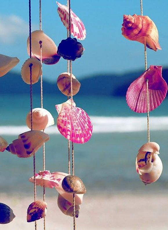 beach shell decorative ideas