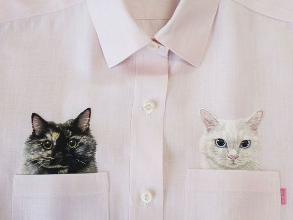 cats on clothes