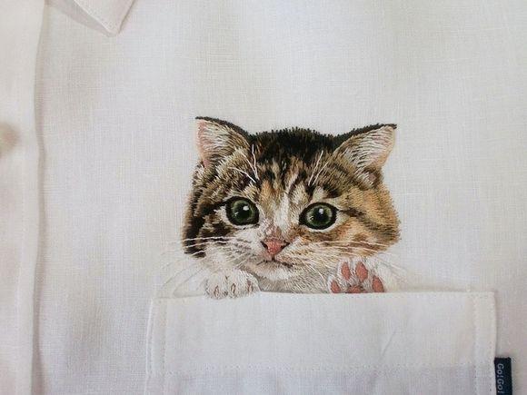 embroidery artist Hiroko Kubota