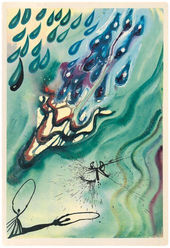 exclusive edition of Alice in Wonderland Salvador Dali illustrations