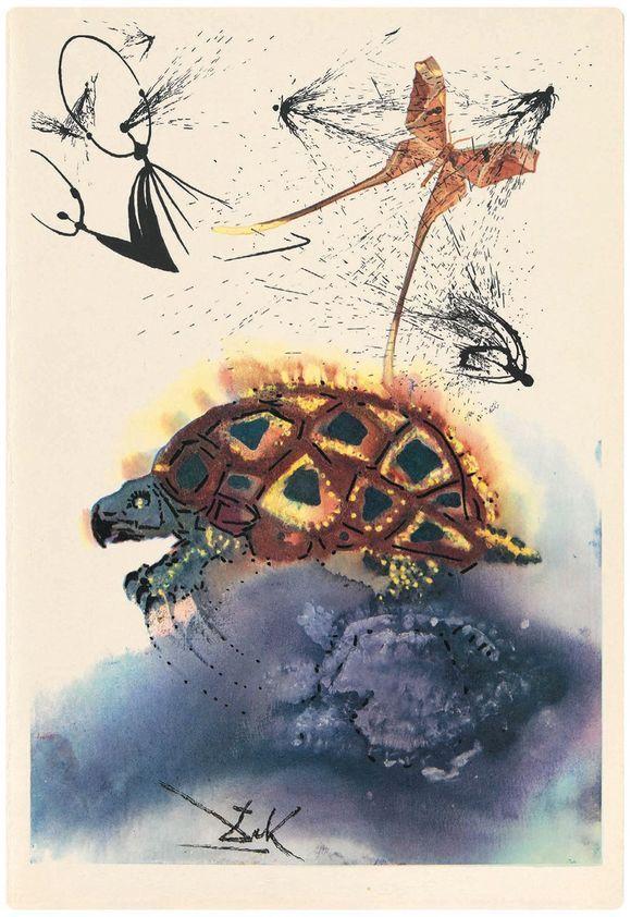 Alice in Wonderland rare Salvador Dali illustrations