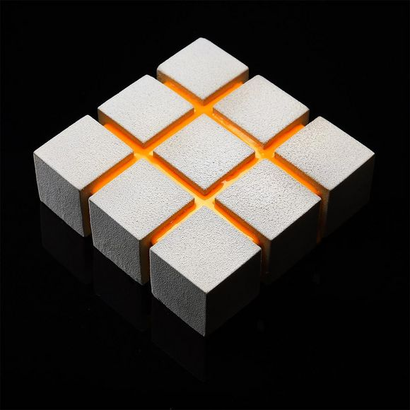 geometrical cake designs