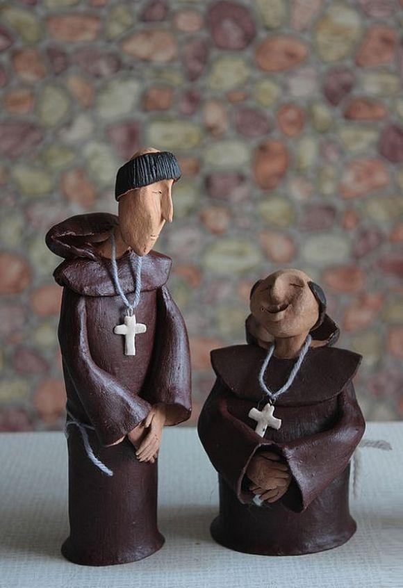 sculptures by Irina Tyulneva ceramic artist from Russia