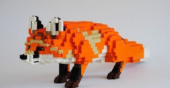 LEGO animals by Felix Jaensch